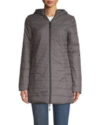 New Balance - Magnet Quilted Jacket - Lyst