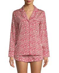 Stella McCartney - Two-piece Pyjama Top & Shorts Set - Lyst
