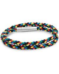 Tateossian - Sterling Silver Wrap Bracelet - Lyst