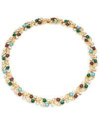 Ben-Amun - Crystal Collar Necklace - Lyst