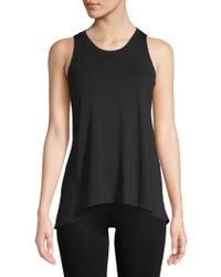 Body Language - Renee Back Cut-out Tank Top - Lyst