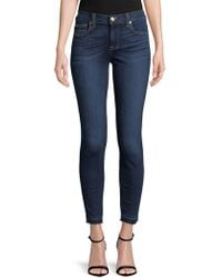 7 For All Mankind - High-waist Skinny Jeans - Lyst