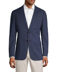 Giorgio Armani - Classic Fit Windowpane Two-button Sportcoat - Lyst