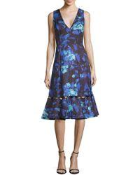 Sachin & Babi - Flora V-neck Dress - Lyst
