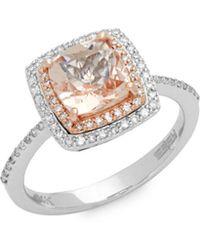 Effy - Two-tone Gold Diamond & Gemstone Ring - Lyst