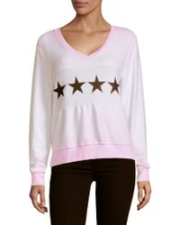Wildfox - Graphic Sweatshirt - Lyst
