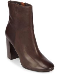 Frye - Mina Leather Booties - Lyst