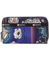 LeSportsac Taylor Print Logo Zip-around Wallet