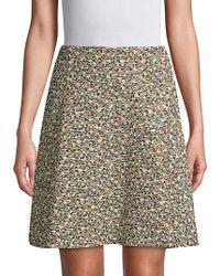 Akris Punto - Multicolored Graphic Skirt - Lyst