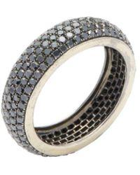 Artisan - Eternity Diamond Band Ring - Lyst