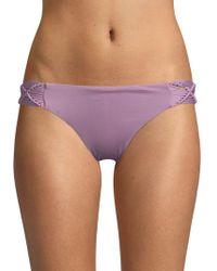 Dolce Vita - Macrame Bikini Bottom - Lyst