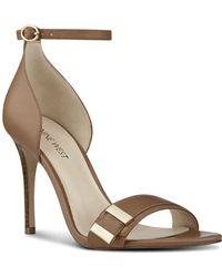 Nine West - Matteo Stiletto Sandals - Lyst