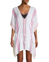 Dolce Vita - Printed Cotton Cover-up Tunic - Lyst