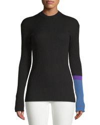Calvin Klein Jeans - Mockneck Slim Sweater - Lyst