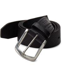 John Varvatos - Five-notch Leather Belt - Lyst