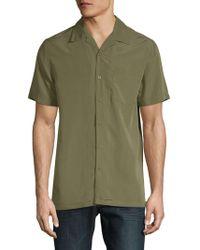 Saks Fifth Avenue - Short-sleeve Camp Button-down Shirt - Lyst
