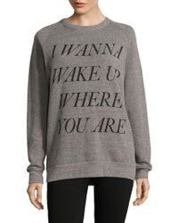 Chrldr - Wake-up Graphic Pullover - Lyst
