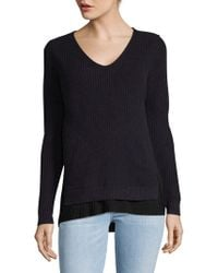 French Connection - Taurus V-neck Jumper - Lyst