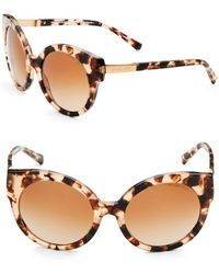 Michael Kors - Round Cat Eye Sunglasses - Lyst