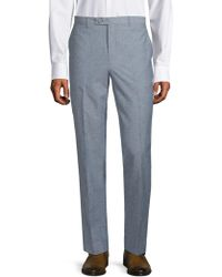 Paisley and Gray - Downing Textured Trousers - Lyst