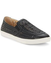 J/Slides - Cutup Leather Slip-on Trainers - Lyst