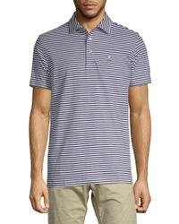 Psycho Bunny - Striped Cotton Polo - Lyst