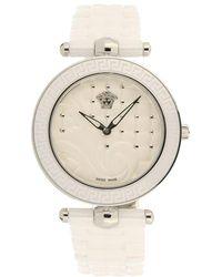 Versace - Vanitas Ceramic & Stainless Steel Bracelet Watch - Lyst