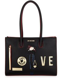 Love Moschino - Love Shoulder Bag - Lyst