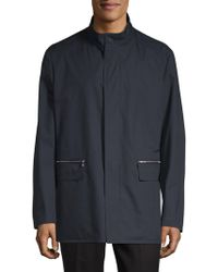 Corneliani - Caban Long-sleeve Coat - Lyst