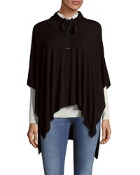 Saks Fifth Avenue - Layered Poncho - Lyst