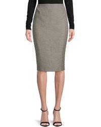 Lafayette 148 New York - Striped Pencil Skirt - Lyst