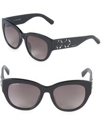 c2a61ed732a Swarovski - 54mm Crystal Square Sunglasses - Lyst