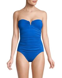 Tommy Bahama - Pearl V Convertible One-piece Swimsuit - Lyst