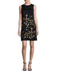 Karl Lagerfeld - Poly Lace Mini Dress - Lyst
