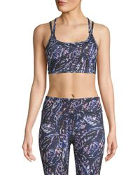 Gaiam - Liv Strappy Sports Bra - Lyst