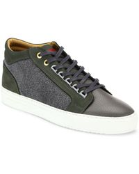 Android Homme - Leather Blend Trainers - Lyst