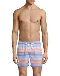 2xist - Malibu Striped Swim Shorts - Lyst