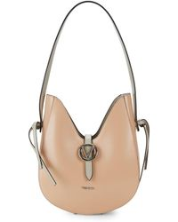 Valentino By Mario Valentino - Anny Leather Hobo Bag - Lyst