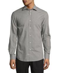 Ralph Lauren Purple Label - Aston Long Fit Button-down Shirt - Lyst