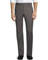 Zanella - Devon Straight-fit Wool Trousers - Lyst