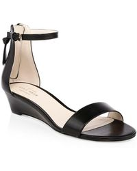 Cole Haan - Adderly Leather Ankle Strap Sandals - Lyst