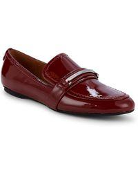 Calvin Klein - Orianna Patent Loafers - Lyst