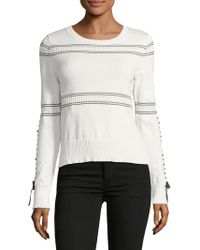 French Connection - Slim-fit Skye Cotton Jumper - Lyst