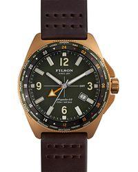 Filson - Journeyman Gmt Watch - Lyst