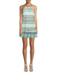 Wildfox - Hanalei Striped Halter Dress - Lyst