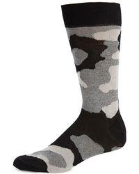Saks Fifth Avenue | Camo Stretch Socks | Lyst