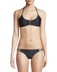 Pilyq - Braided Zen Bikini Top - Lyst