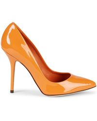 Dolce & Gabbana - Kate Patent Leather Court Shoes - Lyst