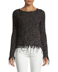 Bailey 44 - Rags To Riches Roundneck Sweater - Lyst