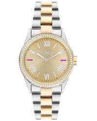 Furla - Eva Stainless Steel Bracelet Watch - Lyst